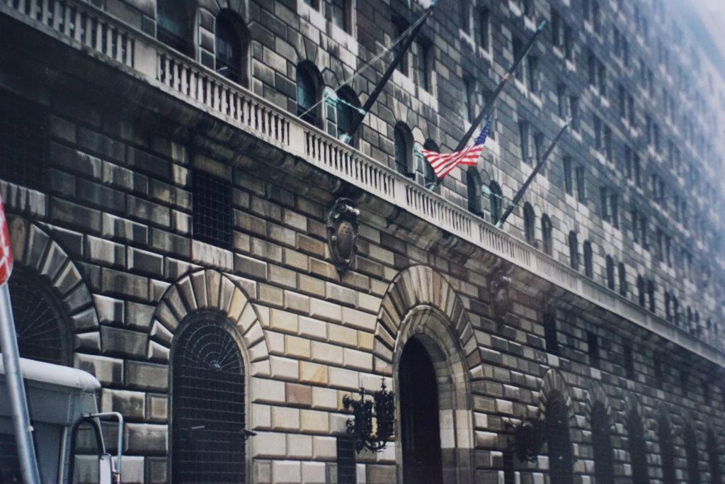 Federal Reserve Bank em Wall Street - Principais Pontos Turísticos de Nova York