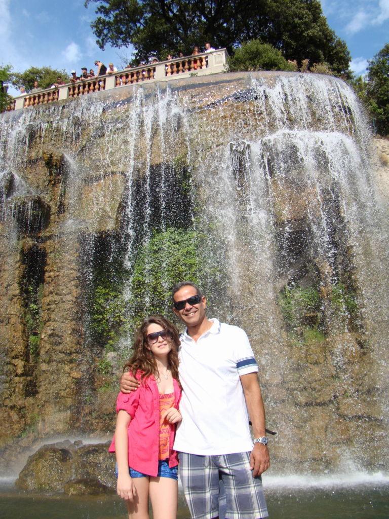 Cascata da Colina do Castelo - O que fazer em Nice em 1 dia