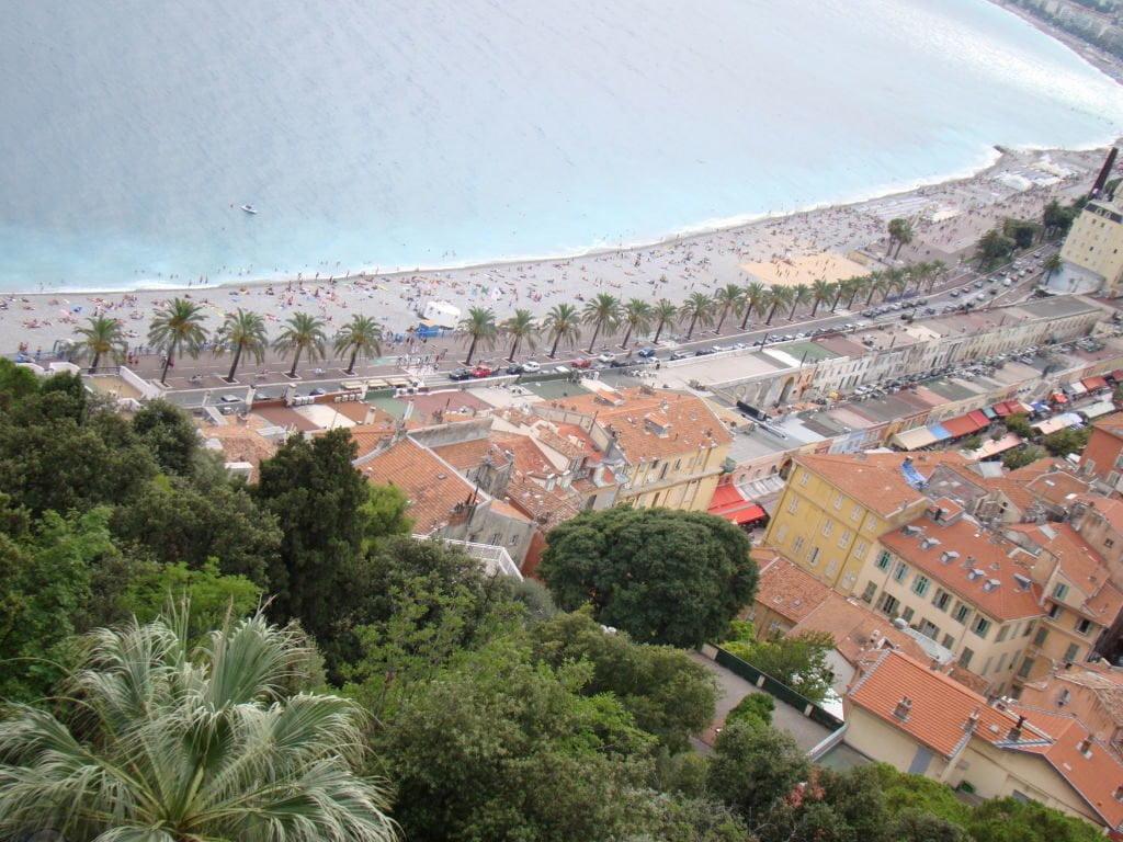 Vista da Colina do Castelo - O que fazer em Nice em 1 dia