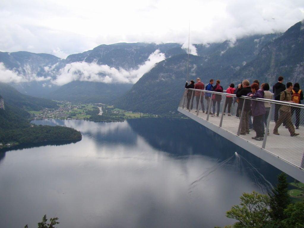 Skywalk em Hallstatt - O que fazer na Áustria? Salzkammergut!