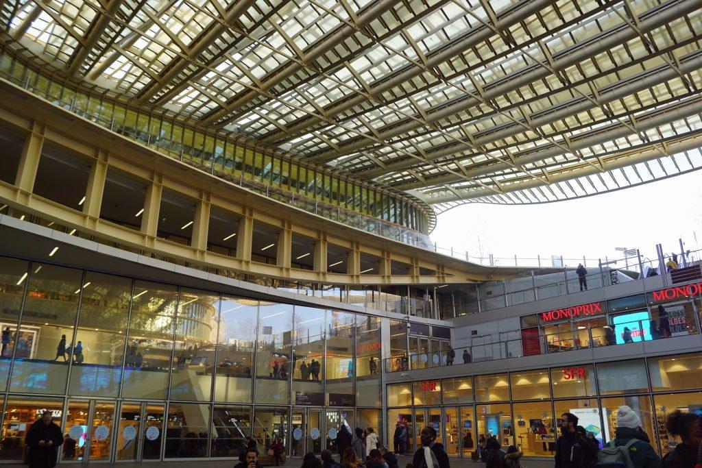 Forum des Halles - Natal em Paris