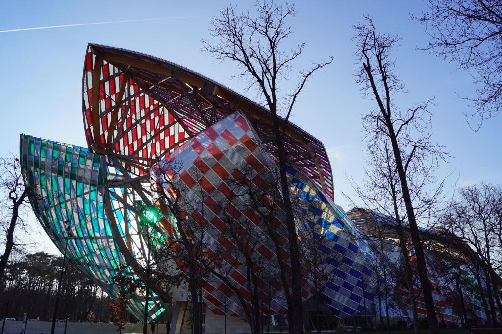 Fundação Louis Vuitton - Natal em Paris