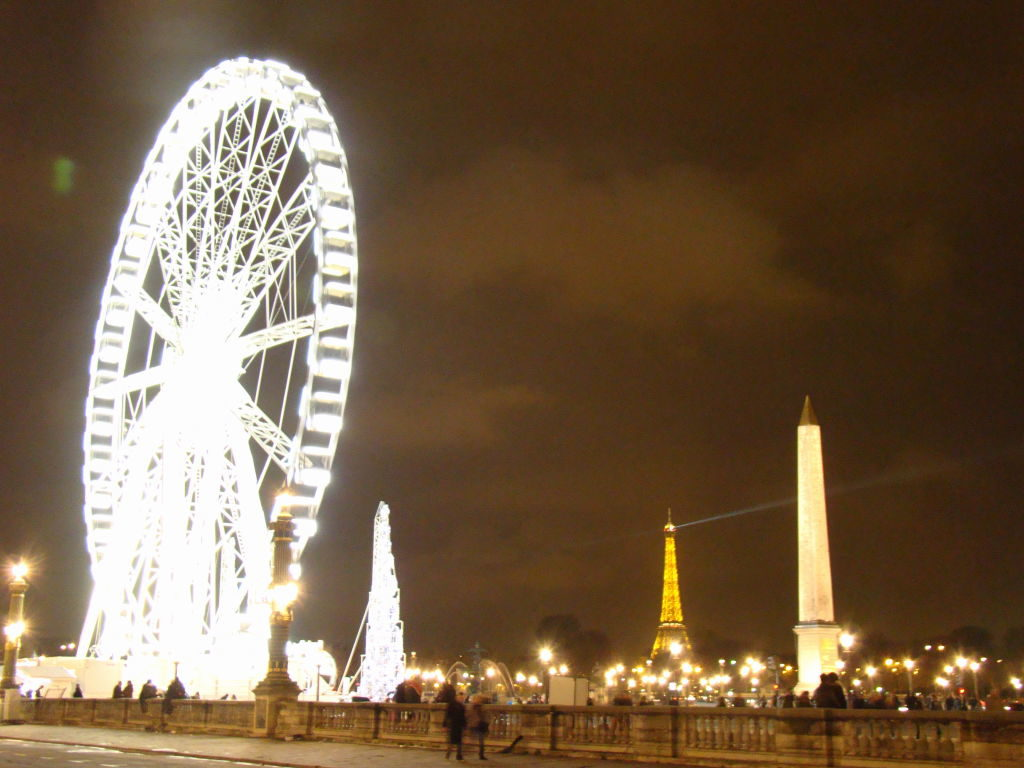 Place de la Concorde - Natal em Paris