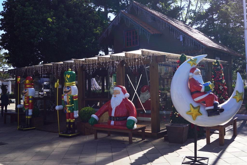 Casa do Papai Noel na Praça João Corrêa - Sonho de Natal em Canela 2019/2020
