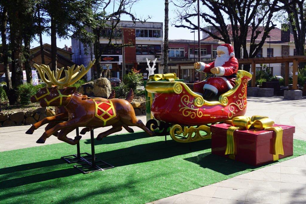 Praça João Corrêa - Sonho de Natal em Canela 2019/2020
