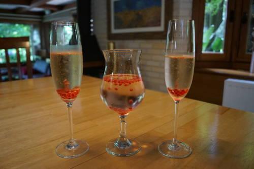 Cozinha Molecular - Esferificação - Drinks com pérolas