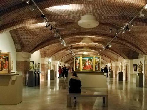 Nível -1 do Palácio de Belas Artes
