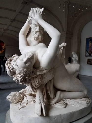 Sátiro e Bacante - Palácio de Velas Artes de Lille