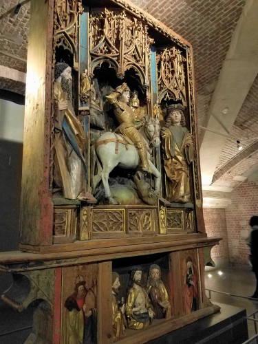 Altar de São Jorge - Palácio de Belas Artes