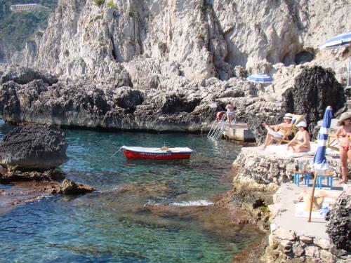 Beach Club la Fontelina - O que fazer em Capri Itália