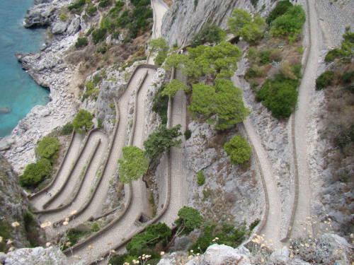 Via Krupp - O que fazer em Capri Itália
