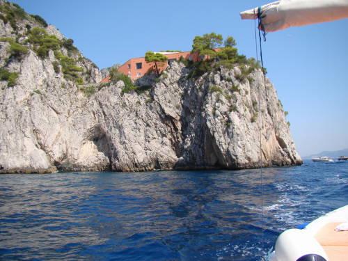 Villa Malaparte - Passeio de Barco na Ilha de Capri Itália